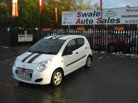 2010 SUZUKI ALTO CRUZ 1L ONLY 25,651 MILES, FULL SERVICE HISTORY, £20 A YEAR TAX