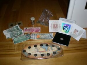 COLLECTION OF VARIOUS CANADIAN MONIES