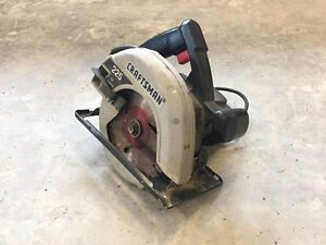 "7 1/4"" circular saw Craftsman"