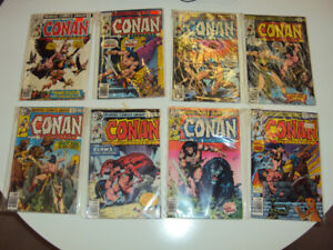 8 'Conan the Barbarian' Comics - #'s 75,76,79,82,94,95,96,97