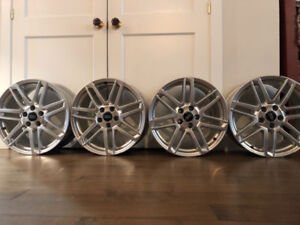 mags originales Audi 18 pouces / 18 inch genuine Audi wheels