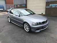 2003 BMW 325 2.5 Ci SPORT COUPE AUTOMATIC,..ONLY 72015 MILES WARRANTED.
