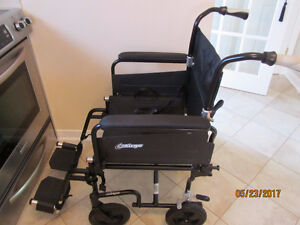 Wheelchair/transport chair, chaise roulante/ transport Airgo