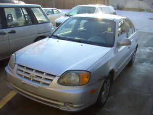 "$550.""As Is"" 2005 Hyundai Accent GS Clean Title(carproof)"
