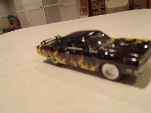 Loose Black w/Flames 1970 '70 PLYMOUTH GTX 440/375 Motor JOHNNY Sarnia Sarnia Area image 9