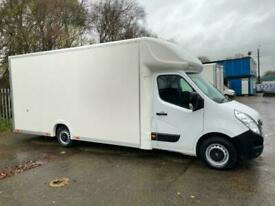 2016 65 EXTRA LONG LARGEST POSSIBLE LOW LOADER RENAULT MASTER LUTON VAN 17FT BOX