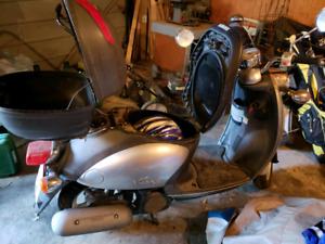 Yamaha 49cc scooter