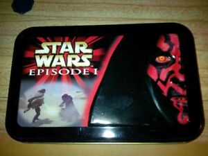 Star Wars Episode 1 Limited edition tin with cards