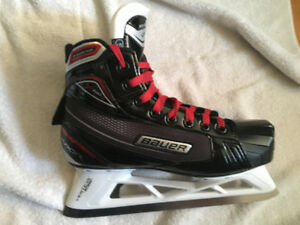 Patins de gardien de but Bauer Vapor V17 grandeur junior 5.