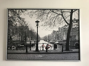 Picture frame of Amsterdam from IKEA
