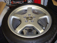"18"" set of AMG Mercedes SL rims & Michelin Tires"