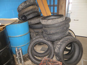 USED MOTORCYCLE TIRES... FREE