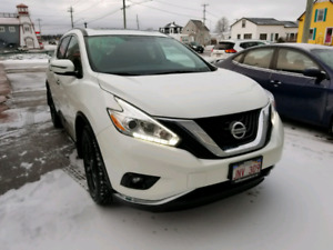 TAKEOVER LEASE 2017 WHITE NISSAN MURANO SV AWD