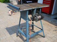 Tilting Arbour Table Saw by National Power