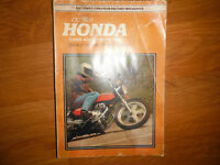 1978 Honda Hawk 400cc Twins CB400T CB400A Service Manual
