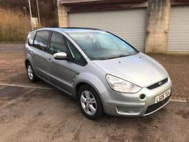 2006 Ford S-MAX 1.8TDCi Diesel 6 speed 7 Seat Zetec Silver