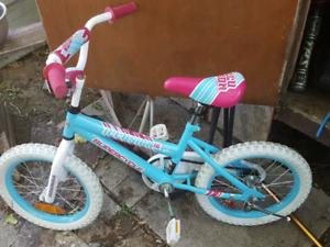 Brand new girls bicycle