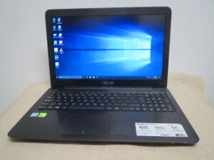 15 15.6 ASUS gaming laptop i5 12GB 1TB NVIDIA 2GB 1080p Graphics