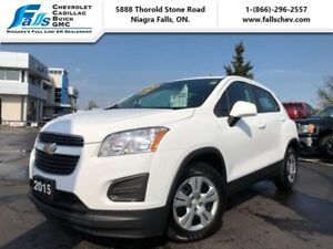 2015 Chevrolet Trax LS  GREAT MILEAGE, ONE OWNER,PRICED AGRESSIV