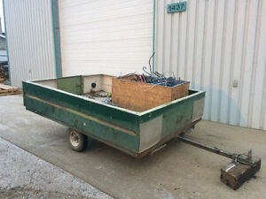 NICE SOLID 8x10 TRAILER FOR SALE