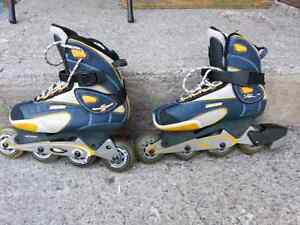 Roller blades Bauer for boys, brand new.  Size 8 US