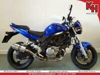 Suzuki SV650 Blue 2006 - Datatool Alarm, Scorpion Exhaust, Service, and Warran