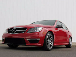 2013 Mercedes-Benz C-Class C63 AMG Performance Package Sedan