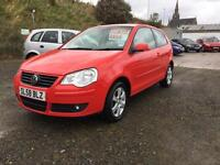 Volkswagen Polo 1.2 2008MY Match, 1 lady owner 64,000 miles
