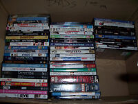 132 dvds all excellent condition no scraches....