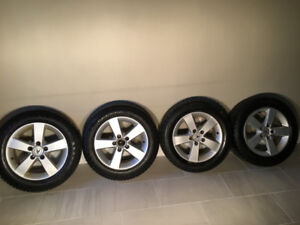 Snow Tires on Beautiful Alloy Rims