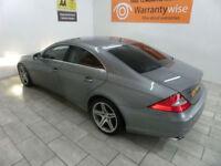 Silver Mercedes CLS350 3.0CDi Tronic Grand Edition ***FROM £238 PER MONTH***