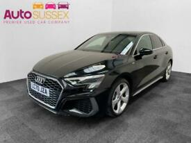 image for Audi A3 1.5 TFSI 35 S line S Tronic (s/s) 4dr Saloon Petrol Automatic