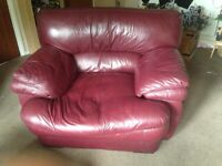Matching 2 seater sofa and chair