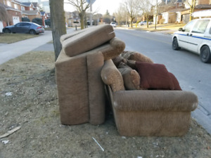 CURB ALERT!! couches