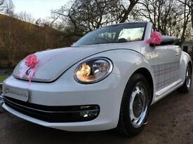 STUNNING CUSTOM VOLKSWAGEN BEETLE CONVERTIBLE PERFECT XMAS GIFT FOR HER WOW