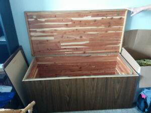 Handcrafted Cedar Chest