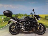 Triumph Street Triple 2010 *top box and alarm fitted*