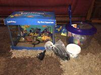 12lt Fish Tank Aquatown My First Aquarium With Extras