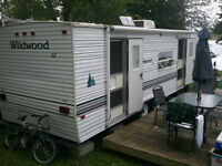Wildwood Forest River Trailer