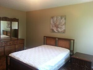 LARGE furnished room for rent in Leduc