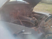 1953 Chevy truck drivetrain 235 straight six and 4 speed trans