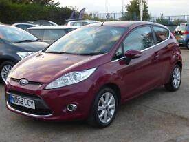 FORD FIESTA 1.25 ZETEC, 3 DOOR, CLIMATE PACK, ALLOYS, 42,000 MILES ONLY
