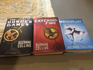 All three Hunger Games novels, in hardcover!
