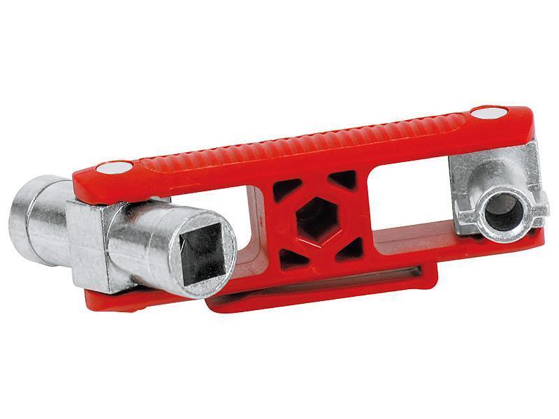 Knipex Universal-Schlüssel für gängige Schränke und Absperrsysteme 97 mm