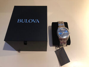 For Sale - Mens Bulova Stainless Steel Watch - Brand New