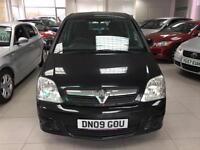 2009 Vauxhall Meriva 1.7CDTi 16v ( a/c ) Design-Full Service 108597k -Invoices