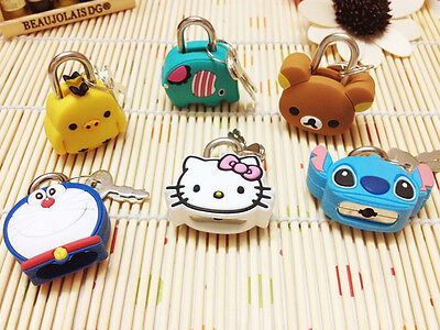 San-X rilakkuma cute Stationery Lock Key for diary,drawer,chest,Toy Bear Chicken