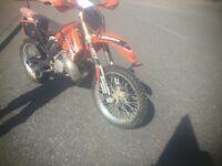 Motocross ktm sx 250