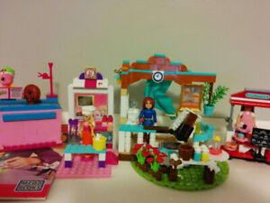 Mega Bloks American Girl, Barbie and Shopkins