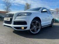 2012 Audi Q7 3.0 TDI QUATTRO S LINE PLUS S/S 5d 204 BHP Estate Diesel Automatic